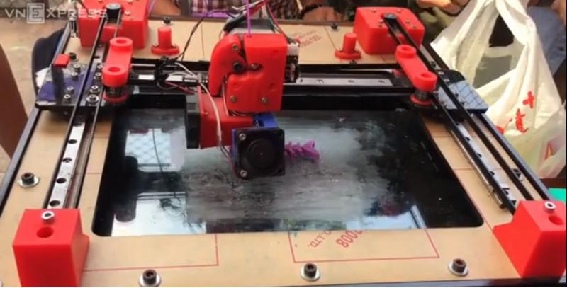 Máy in 3D giá 4 triệu đồng