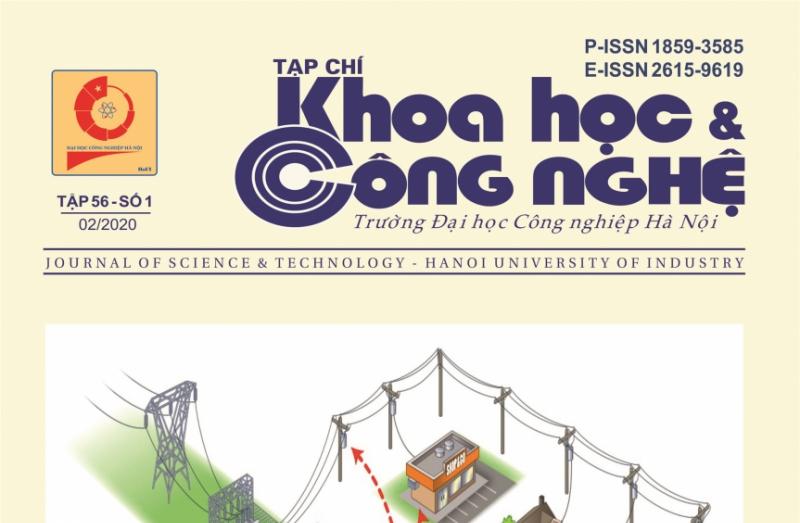 Tạp chí Khoa học và Công nghệ Trường Đại học Công nghiệp Hà Nội