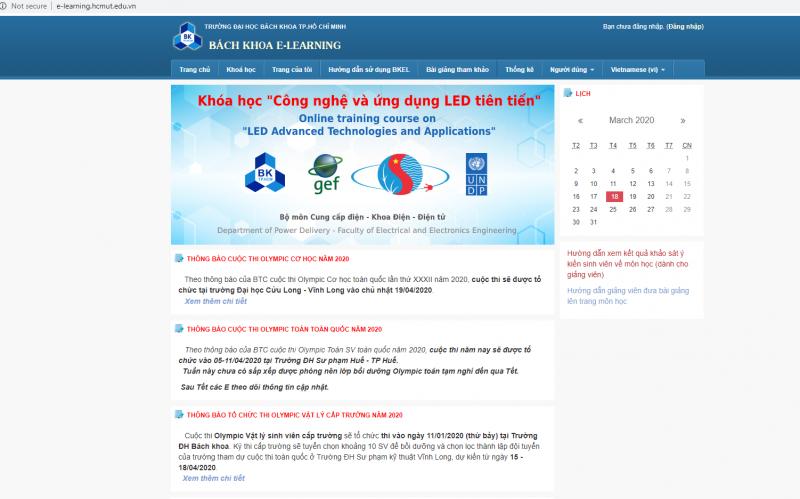 Trường ĐH Bách khoa triển khai hoạt động hỗ trợ dạy và học trực tuyến